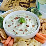 Spicy Avocado Bacon Ranch Dip