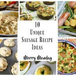 10 unique sausage recipe ideas