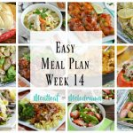 easy meal plan week 14
