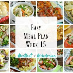 easy meal plan week 15