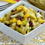 easy three bean salad classic recipe