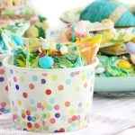 Easter Bunny Tail Candy Bark
