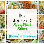 kid friendly meals for spring break