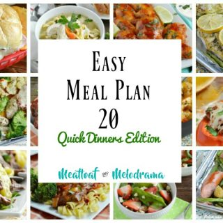easy meal plan 20 quick dinners