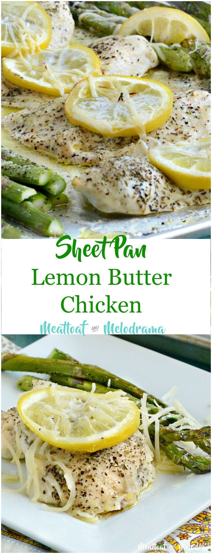 My Family Couldn't Get Enough Of This Sheet Pan Lemon Butter Chicken And  Asparagus