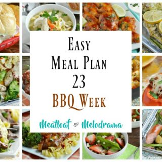 Easy Meal Plan 23-BBQ Week