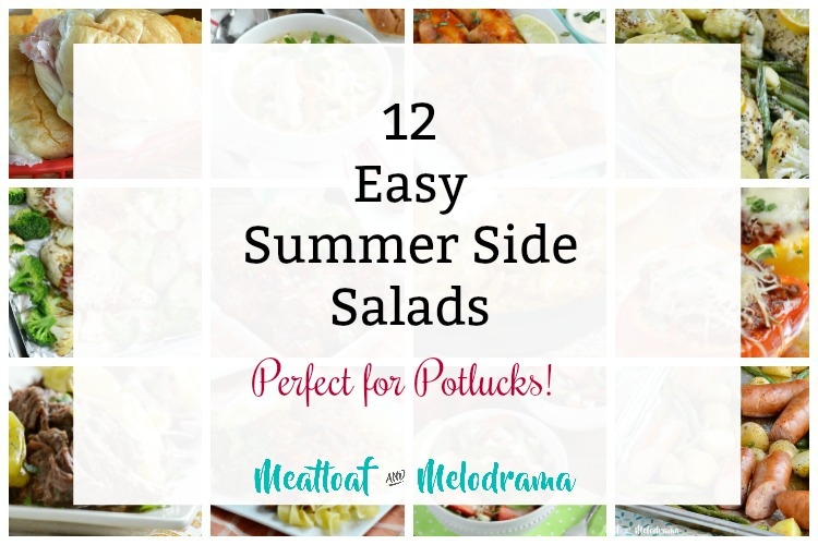 12 easy summer side salads perfect for potlucks collage