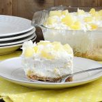 no bake pineapple dream dessert for summer