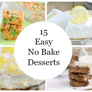 15 Easy No Bake Desserts