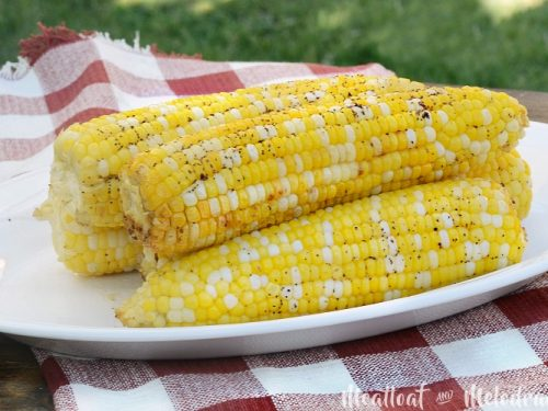 Foil Grilled Corn On The Cob Meatloaf And Melodrama