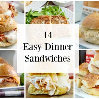 14 Easy Dinner Sandwiches