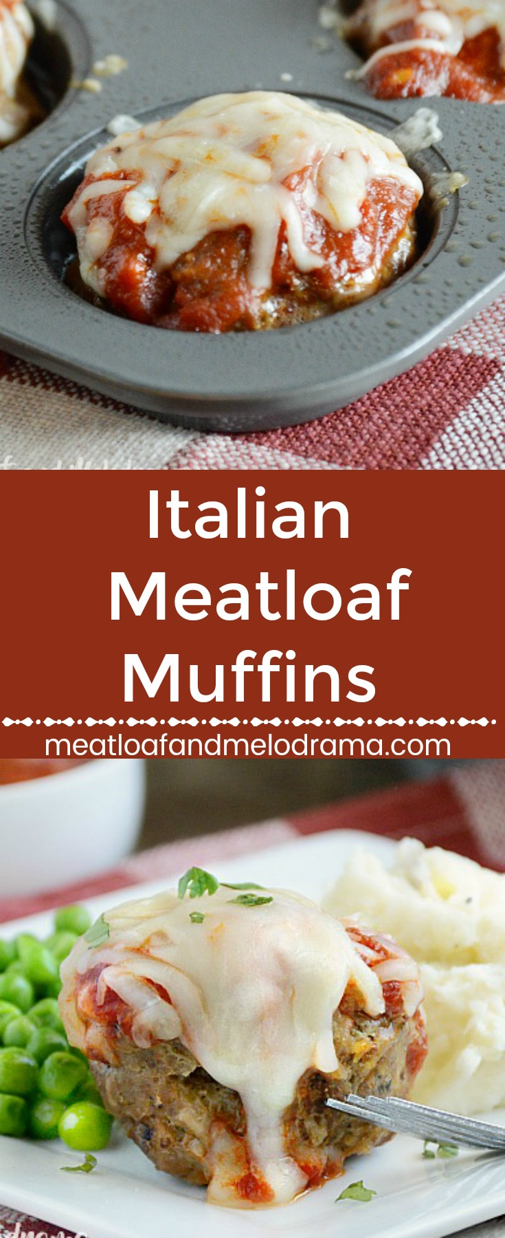 Italian Meatloaf Muffins