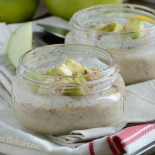 cinnamon brown sugar overnight oats recipe