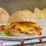 Crock-Pot Enchilada Chicken Sliders