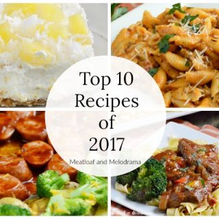 Top 10 Recipe Posts of 2017
