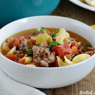 Ground Beef Noodle Soup
