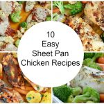 10 Easy Sheet Pan Chicken Recipes