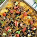 Sheet Pan Pulled Pork Nachos