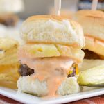 Spicy Habanero Beef Sliders