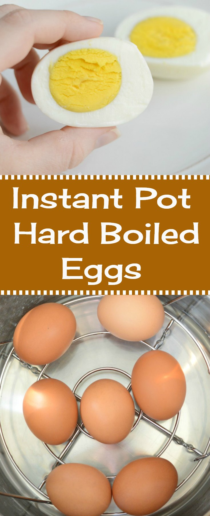 hard boiled eggs in the instant pot pressure cooker