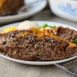 Instant Pot Meatloaf with Cheddar BBQ Sauce