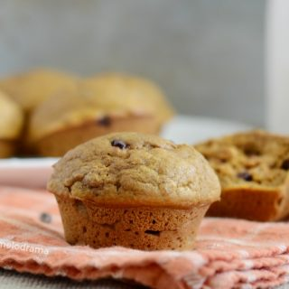 One Bowl Pumpkin Spice Muffins