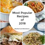most popular recipes of 2018 collage