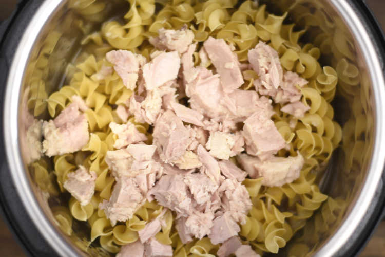 egg noodles and tuna in instant pot