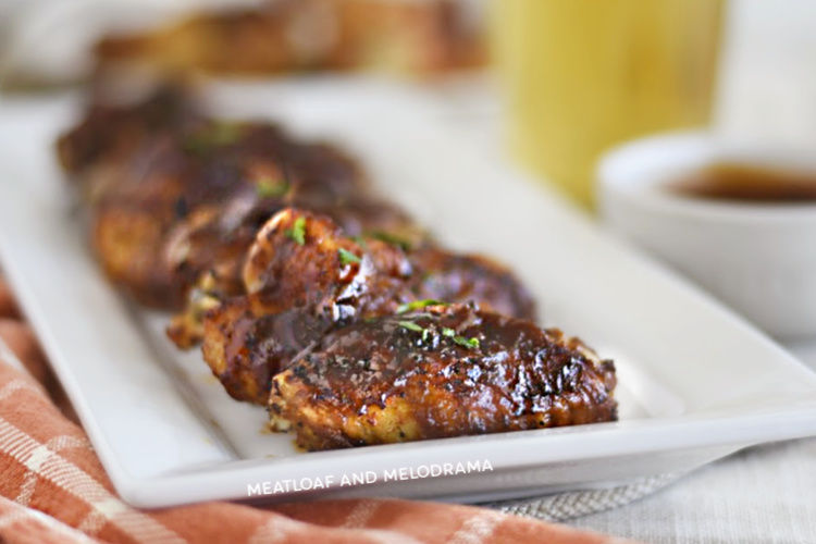 Air Fryer Bbq Chicken Wings Meatloaf And Melodrama