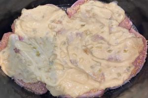 pork chops with cream of celery soup in slow cooker