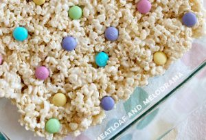 cereal treats in pan